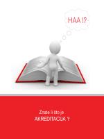 HAA: Znate li što je akreditacija?