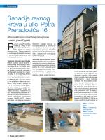 RM20 – Preradoviceva - Hidroizolacije Plan