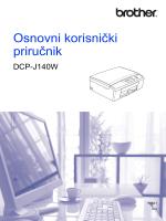 Osnovni korisnički priručnikDCP-J140W