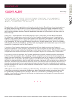 client_alert_croatia_Spatial planning and construction