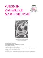 vjesnik 11-12 2011 - Vjesnici Zadarske nadbiskupije