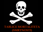 TABLICE MORTALITETA (SMRTNOSTI)