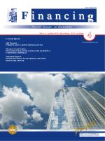 "Naučni časopis ""Financing"" - Broj 4 Godina 3 / decembar 2012."