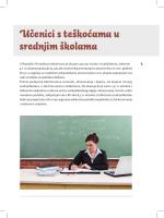 Učenici s teškoćama u srednjim školama
