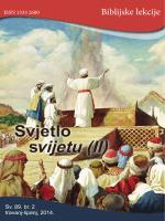 svijetu (II) - Seventh Day Adventist Reform Movement