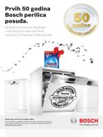 Prvih 50 godina Bosch perilica posuđa.