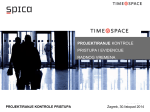 projektiranje kontrole pristupa i evidencije radnog vremena