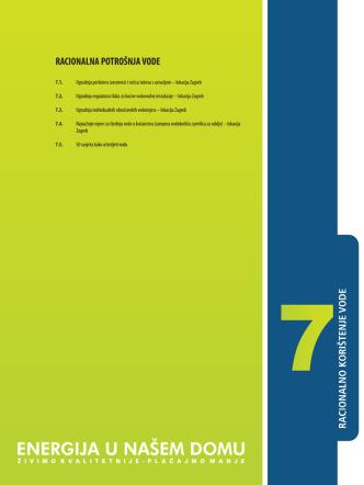 7. racionalna potrošnja vode - Poticanje energetske efikasnosti u