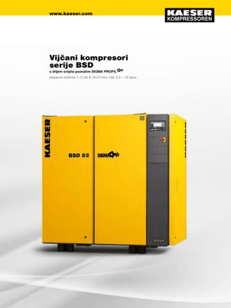 BSD 30–45 kW - KAESER KOMPRESSOREN