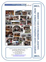 Izvješće o radu 2011.