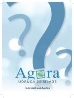 informativnu brošuru - Agora | Udruga za mlade