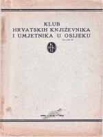 klub hrvatskih književnika i umjetnika u osijeku