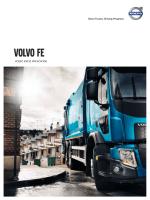 Volvo FE Vodič kroz Proizvode 8.2 MB
