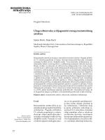 BIOMEDICINSKA ISTRAŽIVANJA Uloga ultrazvuka u dijagnostici