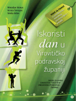 """Vodič """"Iskoristi dan u Virovitičko - podravskoj županiji"""""""