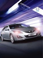 Mazda 6 brošura