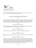 Pravilnik o senzornom ocjenjivanju meda
