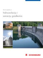 hidroizolaciju i sanaciju građevina