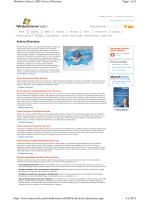 Page 1 Microsoft Hrvatska | Serveri i alati Active Directory sredstvo