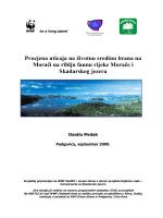 Procjena uticaja na životnu sredinu brana na