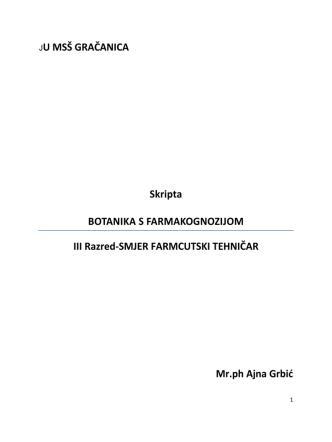 Botanika s famako. III r