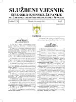 službeni 5 2011.indd - Šibensko