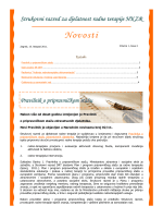 E-novosti SR DRT HKZR 1-2011