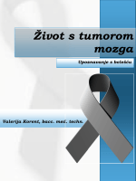 Život s tumorom mozga