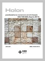 Holon, 3(2) - Hrvatsko društvo za integralnost