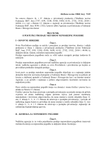 Službene novine FBiH, br. 75/05 - Agencija za privatizaciju FBiH