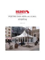 SVJETSKI DAN AIDS-A 01.12.2012. IZVJEŠTAJ - HUHIV-a