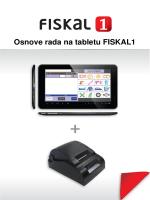 Fiskal1 - Upute za rukovanje - 06-2013