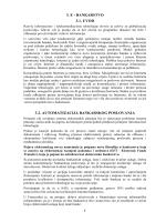 3. E - BANKARSTVO 3.1. UVOD 3.2. AUTOMATIZACIJA