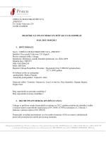 Financijsko izvješće za 2012.