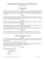 Pravilnik o računovodstvu neprofitnih organizacija i rtačunskom planu