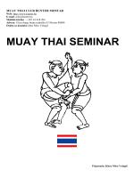 tajlandski boks seminar za trenere