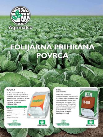 Agrimatco – Folijarna prihrana povrća
