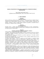 Zakona o registraciji poslovnih subjekata u FBiH
