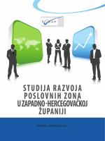 studija razvoja poslovnih zona u zapadno - RIC - REDAH-a
