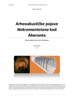 Arheoakustičke pojave Nekromanteiona kod Aheronta