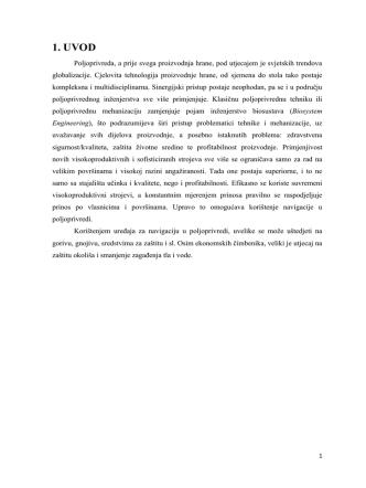 1. UVOD - Poljoprivredni fakultet u Osijeku