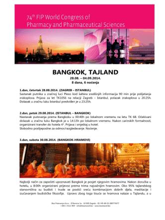 BANGKOK, TAJLAND - Bizz putovanja doo