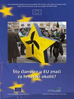 Što članstvo u EU znači za hrvatski okoliš?