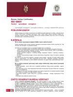 ISO 50001 Sustavi upravljanja energijom