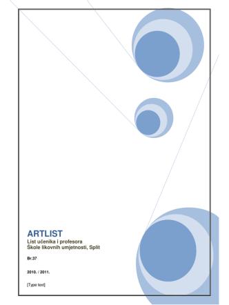 ARTLIST - Škola likovnih umjetnosti Split