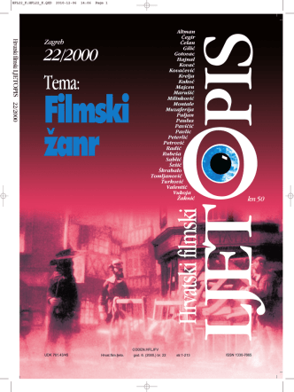 22/2000 - Hrvatski filmski savez