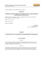 Zakon o postupanju s nezakonito izgrađenim zgradama