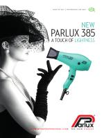 Depliant Parlux 385 2014.indd