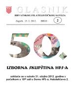Glasnik Hrvatskog filatelističkog saveza br. 2/12