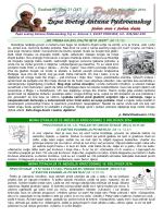 ŽUPNI LISTIĆ (br. 31/247) - Župa Svetog Antuna Padovanskog